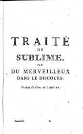 Oeuvres de Nicolas Boileau Despréaux: Volume3