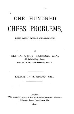 One Hundred Chess Problems PDF