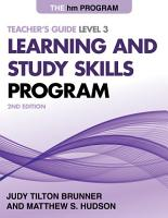 The HM Learning and Study Skills Program PDF