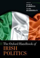 The Oxford Handbook of Irish Politics PDF