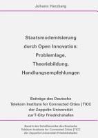 Staatsmodernisierung durch Open Innovation PDF
