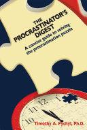 The Procrastinator s Digest PDF