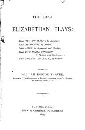 The Best Elizabethan Plays ...