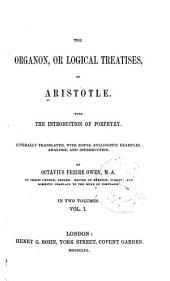 The Organon: Volume 1