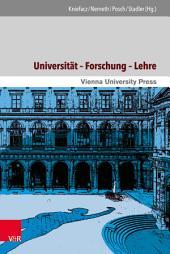 Universität – Forschung – Lehre: Themen und Perspektiven im langen 20. Jahrhundert