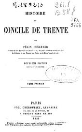Histoire de Concile de Trente: Volume1