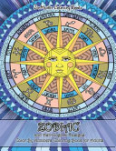 Zodiac and Astrological Designs Color By Numbers Coloring Book for Adults