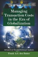 Managing Transaction Costs in the Era of Globalization PDF