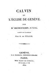 Calvin et l'église de Genève