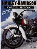 Harley-davidson Data Book Revised 1980-2006