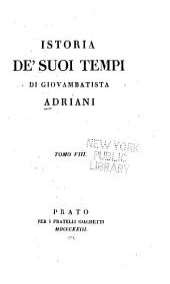 Istoria de' suoi tempi: Volume 8