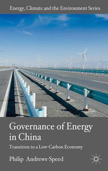 The Governance of Energy in China PDF