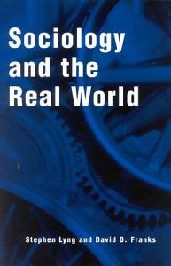 Sociology and the Real World PDF
