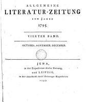 ALLGEMEINE LITERATUR  ZEITUNG VOM JAHRE 1795 PDF