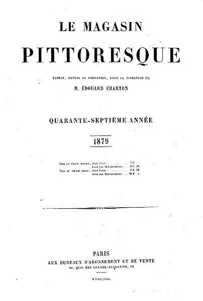 Download Le Magasin pittoresque Book
