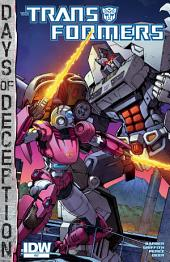 Transformers: More Than Meets the Eye #37: Days of Deception