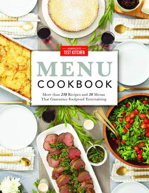 America s Test Kitchen Menu Cookbook