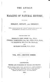 The Annals and Magazine of Natural History: Zoology, Botany, and Geology
