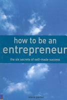 How to be an Entrepreneur PDF