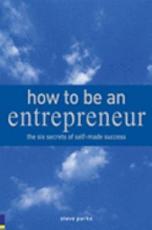 How to be an Entrepreneur PDF