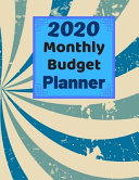 Monthly Budget Planner 2020 PDF