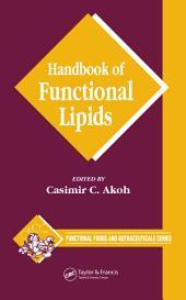 Handbook of Functional Lipids