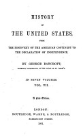 History of the United States  from the discovery of the American Continent PDF