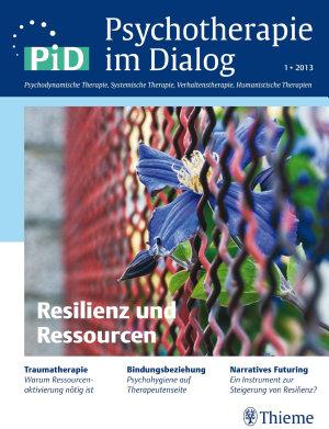 Psychotherapie im Dialog   Resilienz und Ressourcen PDF