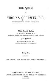 The Works of Thomas Goodwin: Volume 6