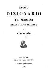 Nuovo Dizionario de'sinonimi della lingua italiana