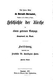 Geschichte der Kirche Christi im neunzehnten Jahrhundert, mit besonderer Rücksicht auf Deutschland: Band 2