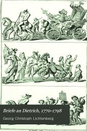 Briefe an Dietrich, 1770-1798