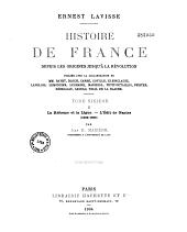 La réforme et la Ligue: 1559-1598