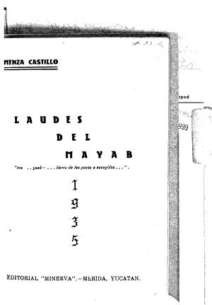Laudes del mayab PDF