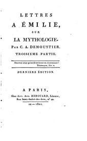 Lettres à Émilie, sur la mythologie: Volume3