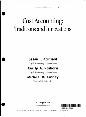 Cost Accounting Im PDF