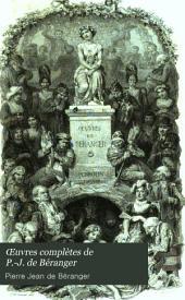 Œuvres complètes de P.-J. de Béranger: Volume2