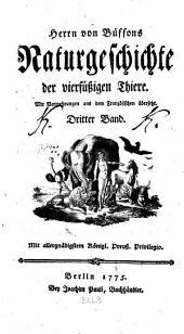 Herrn von Büffons Naturgeschichte der vierfüssigen Thiere ...