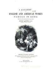 A Gallery of English and American Women Famous in Song