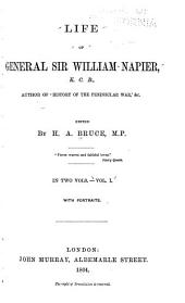 Life of General Sir William Napier: Volume 1