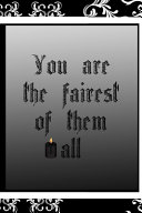 You Are The Fairest Of Them All Book