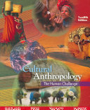 Cultural Anthropology The Human Challenge Book PDF