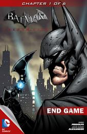 Batman: Arkham City End Game #1