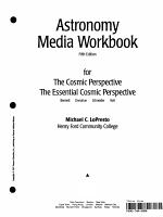 Astronomy Media Workbook PDF