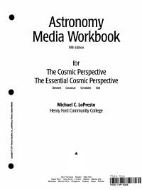 Astronomy Media Workbook