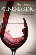 First Steps in Winemaking Book