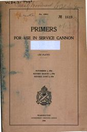 Primers for Use in Service Cannon