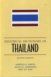 Historical Dictionary of Thailand: Edition 2