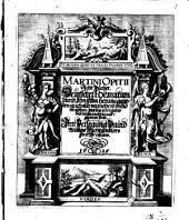 MARTINI OPITII Acht Bücher Deutsche Poematum durch Ihn selber heraus gegeben