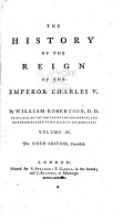 The History of the Reign of Emperor Charles V  with a View of the Progress of Society in Europe  from the Subversion of the Roman Empire  to the Beginning of the Sixteenth Century PDF